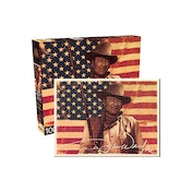 John Wayne Flag 1000 Pieces Puzzle