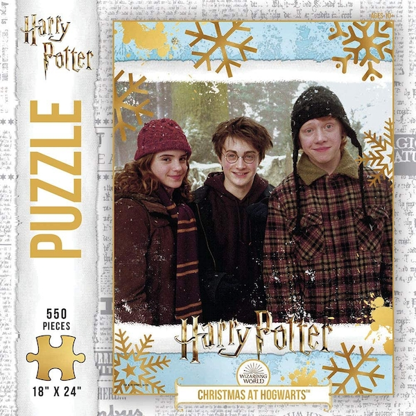 Harry Potter Christmas at Hogwarts Jigsaw Puzzle - 550 Pieces