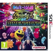 Pac-Man and Galaga Game 3DS