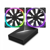 NZXT Aer RGB120 Dual 120m Fan with HUE  controller