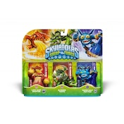Slobber Tooth, Eruptor, and Pop Fizz (Skylanders Swap Force) Triple Character Pack A