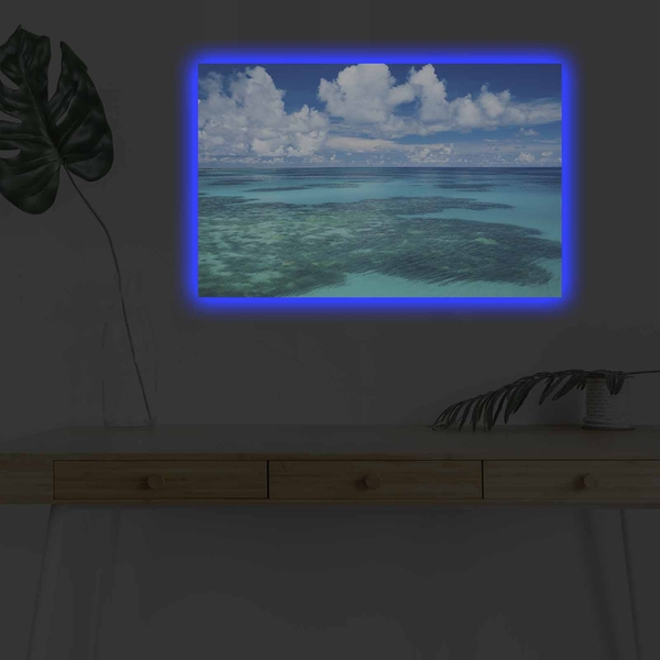4570DHDACT-171 Multicolor Decorative Led Lighted Canvas Painting