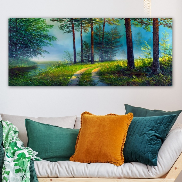 YTY3574601086_50120 Multicolor Decorative Canvas Painting
