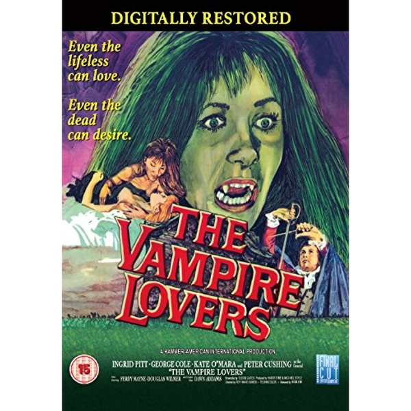 The Vampire Lovers DVD