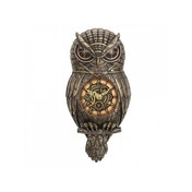 Chronology Wisdom Owl Steampunk Clock