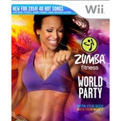 Zumba Fitness World Party Bundle Pack With Belt Game Wii