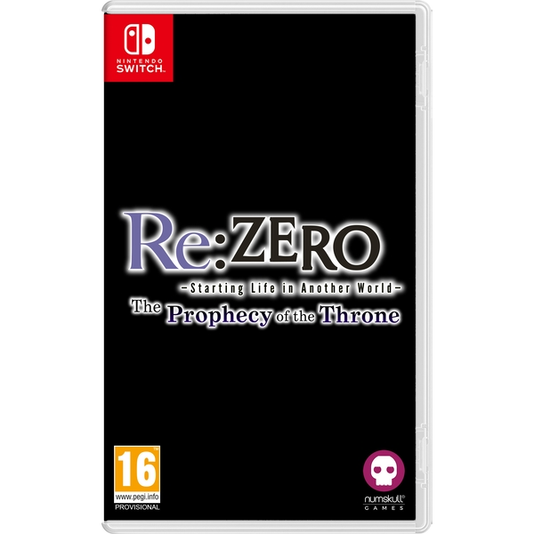 Re:ZERO Starting Life in Another World The Prophecy of the Throne Nintendo Switch Game