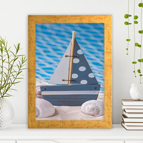 AC1935127793 Multicolor Decorative Framed MDF Painting