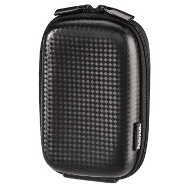 Image of Camera cover Hama Hardcase Carbon Style, 60 H Internal dimensions (W x H x D) 65 x 105 x 30 mm Black