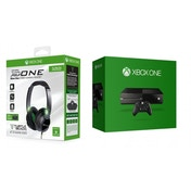Xbox One Console (without Kinect sensor) and Turtle Beach XO One Headset