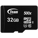 Team 32GB Micro SDHC Class 10 UHS-I Flash Card with Adapter - Image 2