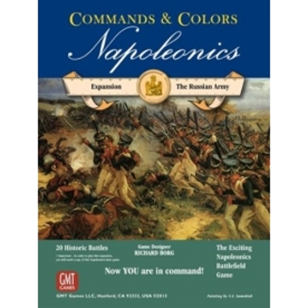 Commands & Colors Napoleonics Russian Army Board Game
