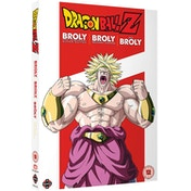 Dragon Ball Z Movie: Broly Trilogy DVD