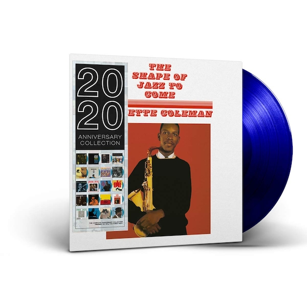 Ornette Coleman - The Shape Of Jazz To Come Blue  Vinyl