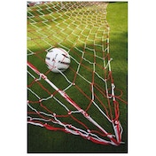 PT Football Goalnets : 3.5mm Knotted (Black/White)