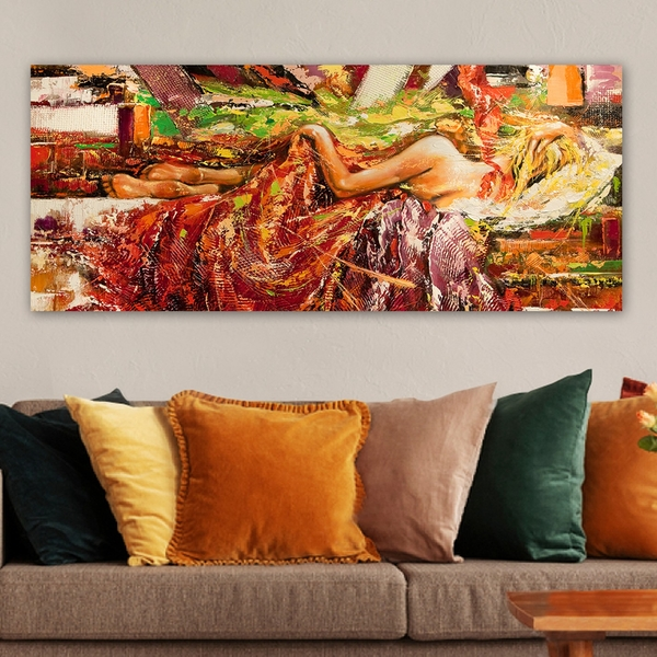 YTY42042493_50120 Multicolor Decorative Canvas Painting