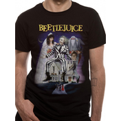 Beetlejuice - Poster Men's Large T-Shirt - Black