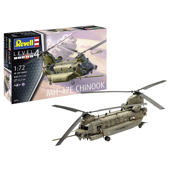 MH-47 Chinook 1:72 Scale Level 4 Revell Model Kit