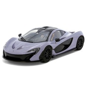 McLaren P1 Ceramic Grey 1:32 Scalextric Street Car