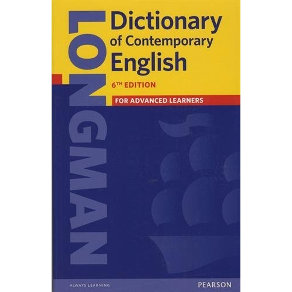 Longman Dictionary of Contemporary English 6 paper by Pearson Education Limited (Paperback, 2014)