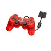 Official Sony Dualshock 2 Controller In Crimson Red PS2