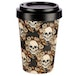 Skulls and Roses Design Bambootique Eco Friendly Travel Cup/Mug - Image 2