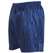 Precision Striped Continental Football Shorts 34-36 inch Navy Blue