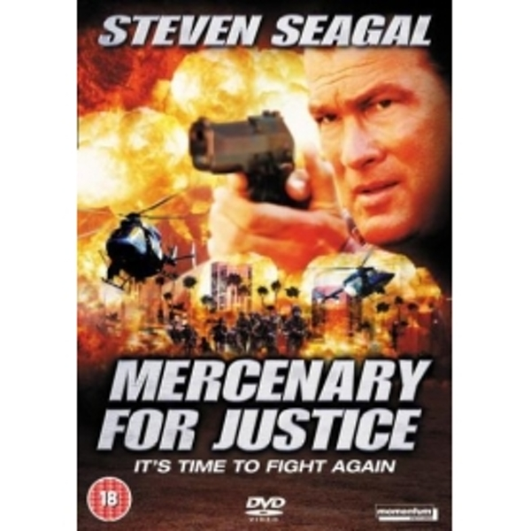 Mercenary For Justice 2006 DVD
