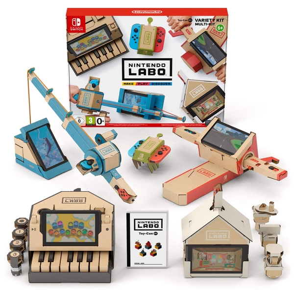 Nintendo Labo Toy-Con 01: Variety Kit for Nintendo Switch