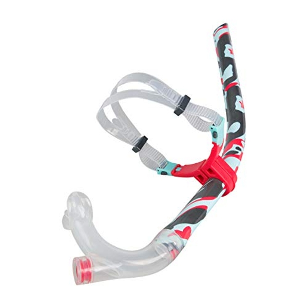 Speedo Center Snorkel  Red/Blue