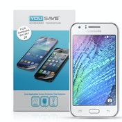 YouSave Accessories Samsung Galaxy J1 (2016) Screen Protectors X 5 - Clear