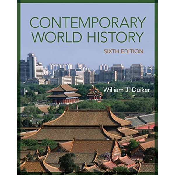 Contemporary World History by William J. Duiker (Paperback, 2014)