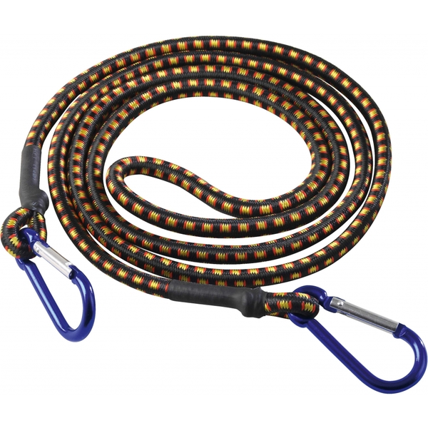 SupaTool Bungee Cord with Carabiner Hooks 1800mm x 8mm