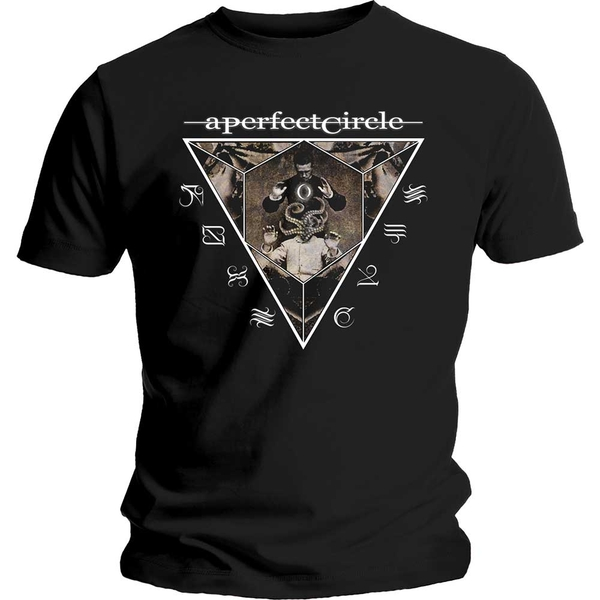 A Perfect Circle - Outsider Unisex Small T-Shirt - Black