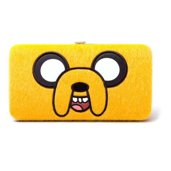 Adventure Time - Jake Furry Big Face Women's Polyester Wallet - Yellow