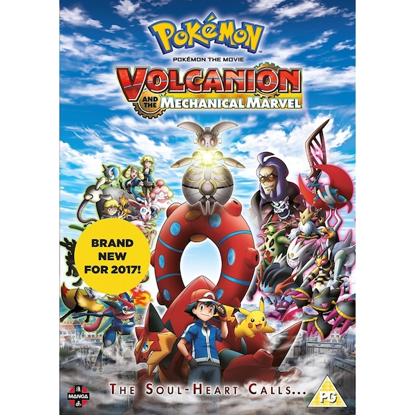 Pokemon The Movie: Volcanion and the Mechanical Marvel DVD