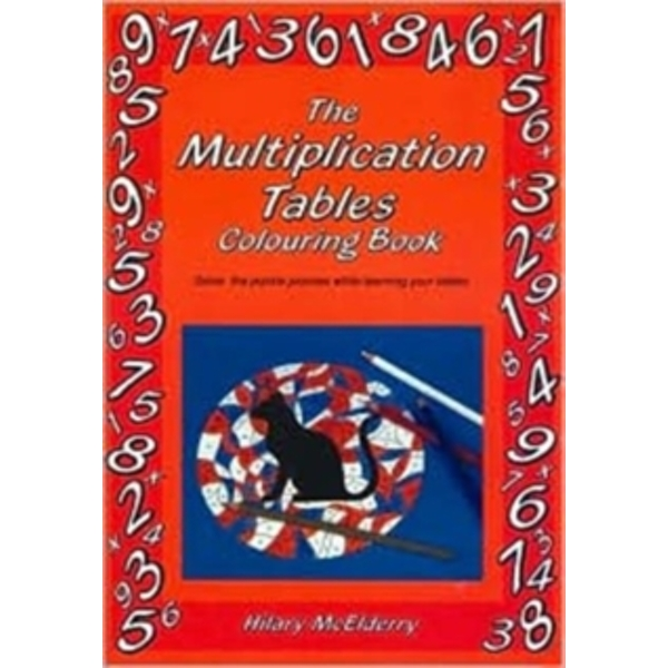 The Multiplication Tables Colouring Book: Solve the Puzzle Pictures While Learning Your Tables by Hilary McElderry (Paperback, 1991)