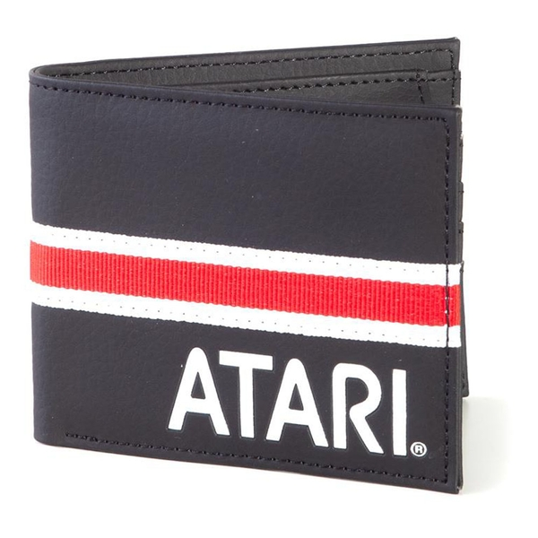 Atari - Logo With Webbing Unisex Bi-Fold Wallet - Multi-Colour