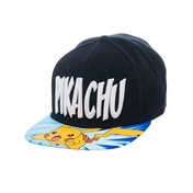 Pokemon Lightning Pikachu Snapback Black Baseball Cap