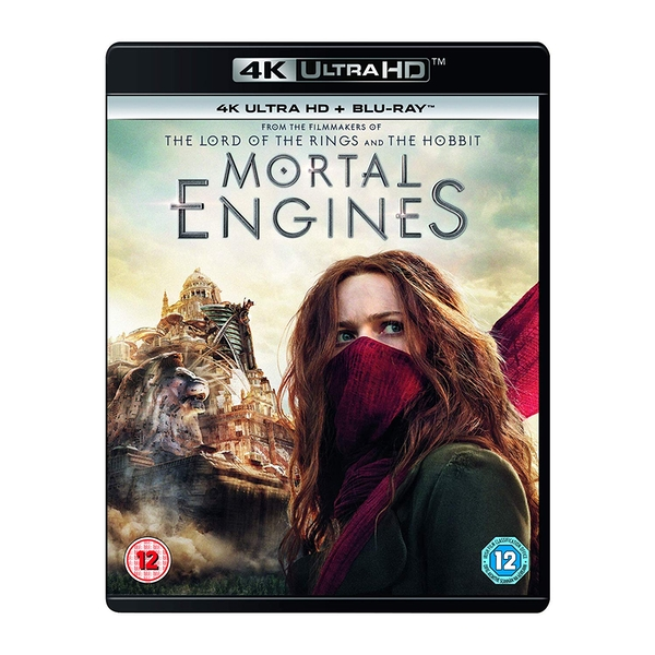 Mortal Engines 4KUHD   Blu-ray