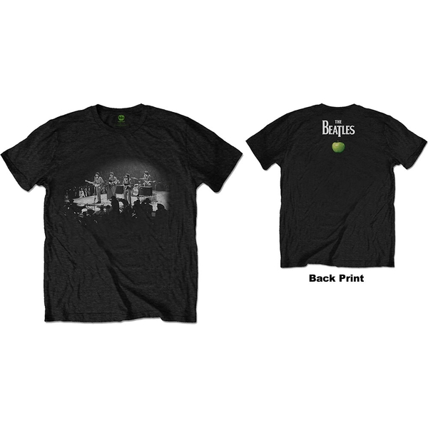 The Beatles - Live in DC Men's XX-Large T-Shirt - Black