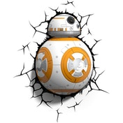 BB-8 3D Deco Wall Light (Star Wars) Light FX