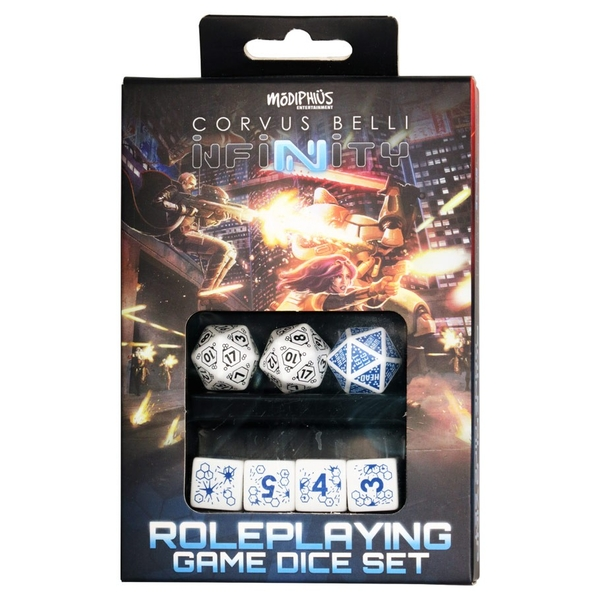 Infinity RPG Dice Set Alpeh (Set of 7)