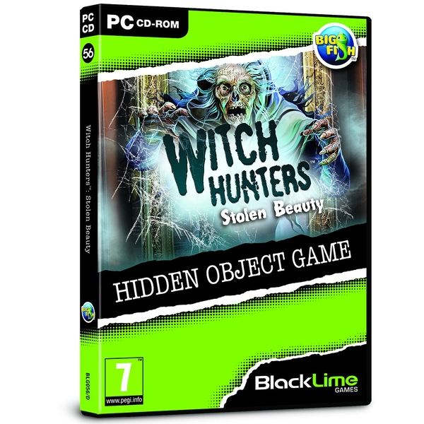 Witch Hunters Stolen Beauty Hidden Object Game for PC (CD-ROM) [Used]