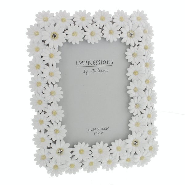 """5"""" x 7"""" - Impressions Floral Daisy Photo Frame"""