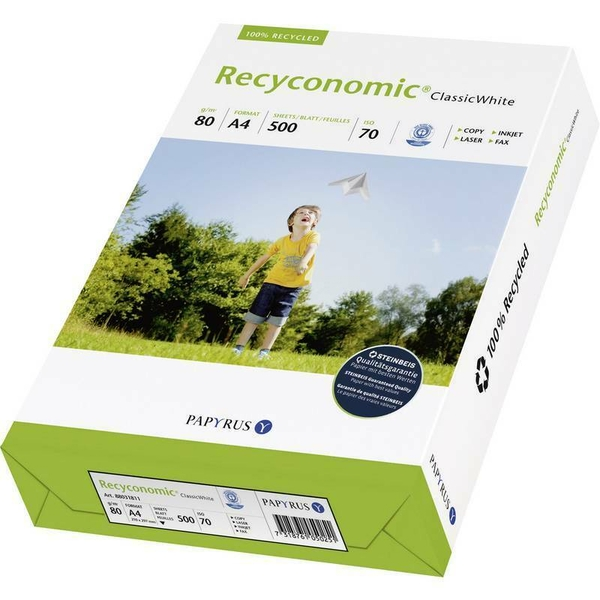 Recycled Paper For Printer (White)