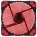 Evo Labs Vegas 120mm 1300RPM 32 x Red LED 9 Blade Fan - Image 2