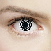 Psycho 1 Day Halloween Coloured Contact Lenses (MesmerEyez XtremeEyez)