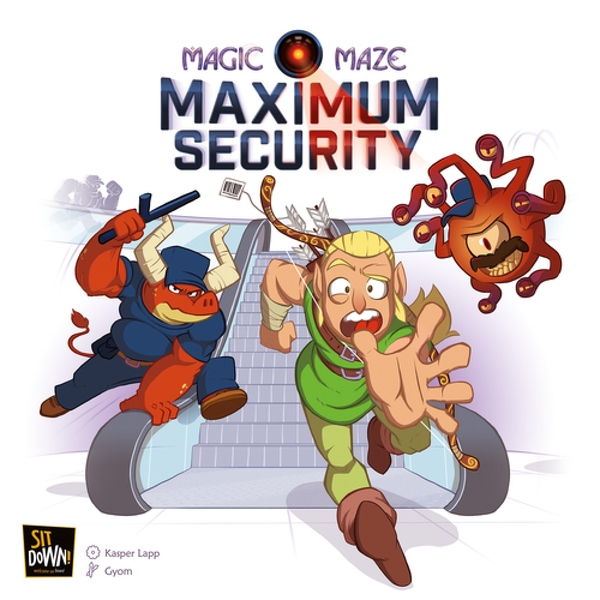Magic Maze Maximum Security Board Game