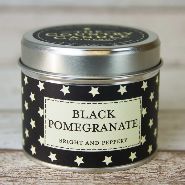 Black Pomegranate (Superstars Collection) Tin Candle
